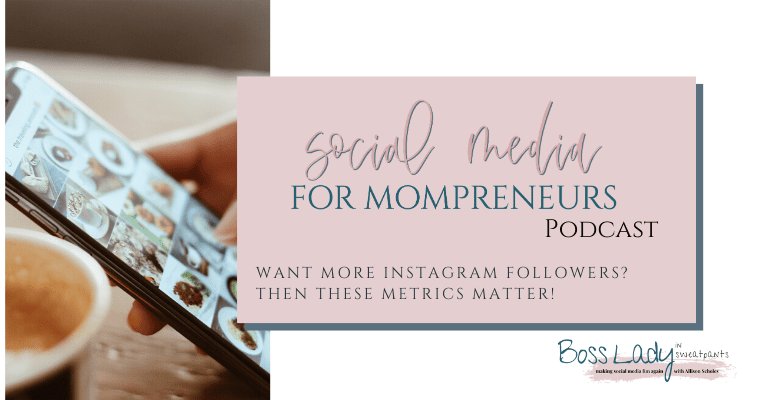 Want more Instagram followers and grow your business? To get the RIGHT followers on Instagram you need to pay attention to THESE metrics!