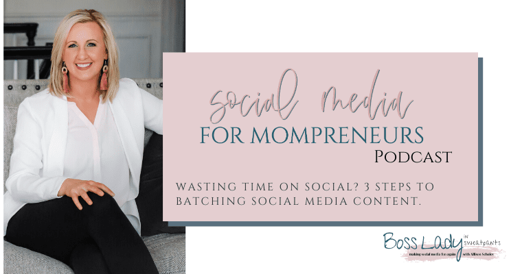 3 steps to batching social media content. Save time and money on Instagram, Facebook, YouTube. Take control over your marketing strategies.